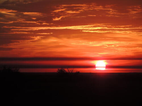 Восход. Фото Н. Пирогова