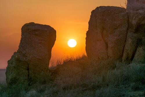 Закат. Фото В. Горбунов